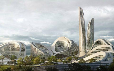zaha hadid architects A New Smart City In Moscow Will Be Designed by Zaha Hadid Architects Zaha Hadid Architects To Design Smart City Outside Moscow 1 480x300