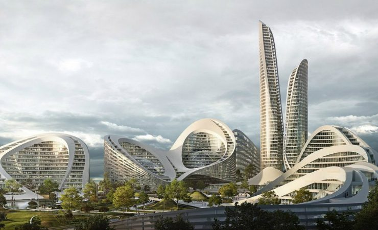 zaha hadid architects A New Smart City In Moscow Will Be Designed by Zaha Hadid Architects Zaha Hadid Architects To Design Smart City Outside Moscow 1 740x450  Home Page Zaha Hadid Architects To Design Smart City Outside Moscow 1 740x450