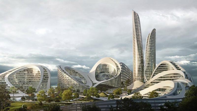zaha hadid architects A New Smart City In Moscow Will Be Designed by Zaha Hadid Architects Zaha Hadid Architects To Design Smart City Outside Moscow 1