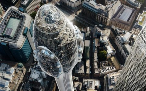 Foster + Partners The Tulip by Foster + Partners Will Soon Be London's Tallest Building feat 6 480x300