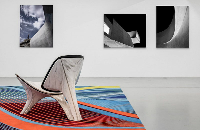 Zaha Hadid Architects Inside The New York City Pop-Up Gallery By Zaha Hadid Architects feat 7