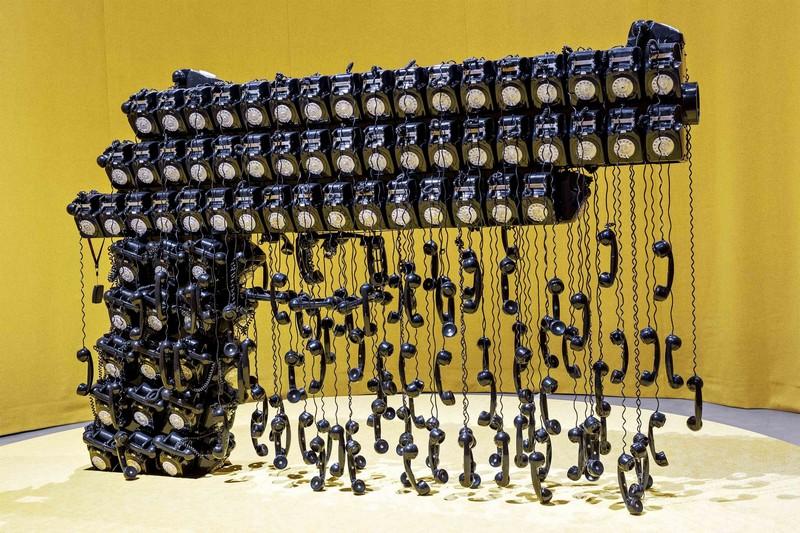 Joana Vasconcelos Has A New Exhibition In Portugal joana vasconcelos Joana Vasconcelos Has A New Exhibition In Portugal Joana Vasconcelos Has A New Exhibition In Portugal 2