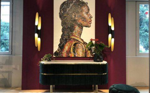 mid-century modern Mid-Century Modern Shines At Bredaquaranta's Milan Showroom feat 1 480x300