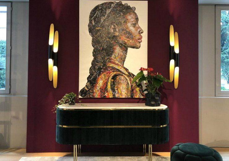 mid-century modern Mid-Century Modern Shines At Bredaquaranta's Milan Showroom feat 1 740x520