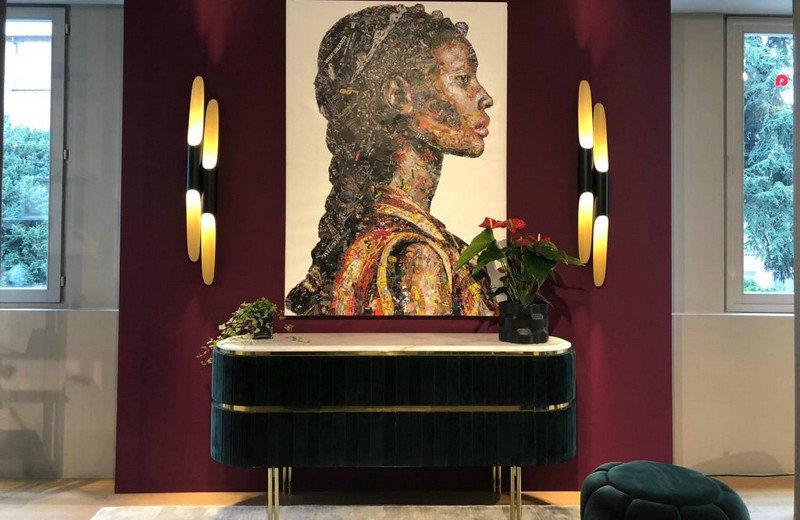 mid-century modern Mid-Century Modern Shines At Bredaquaranta's Milan Showroom feat 1