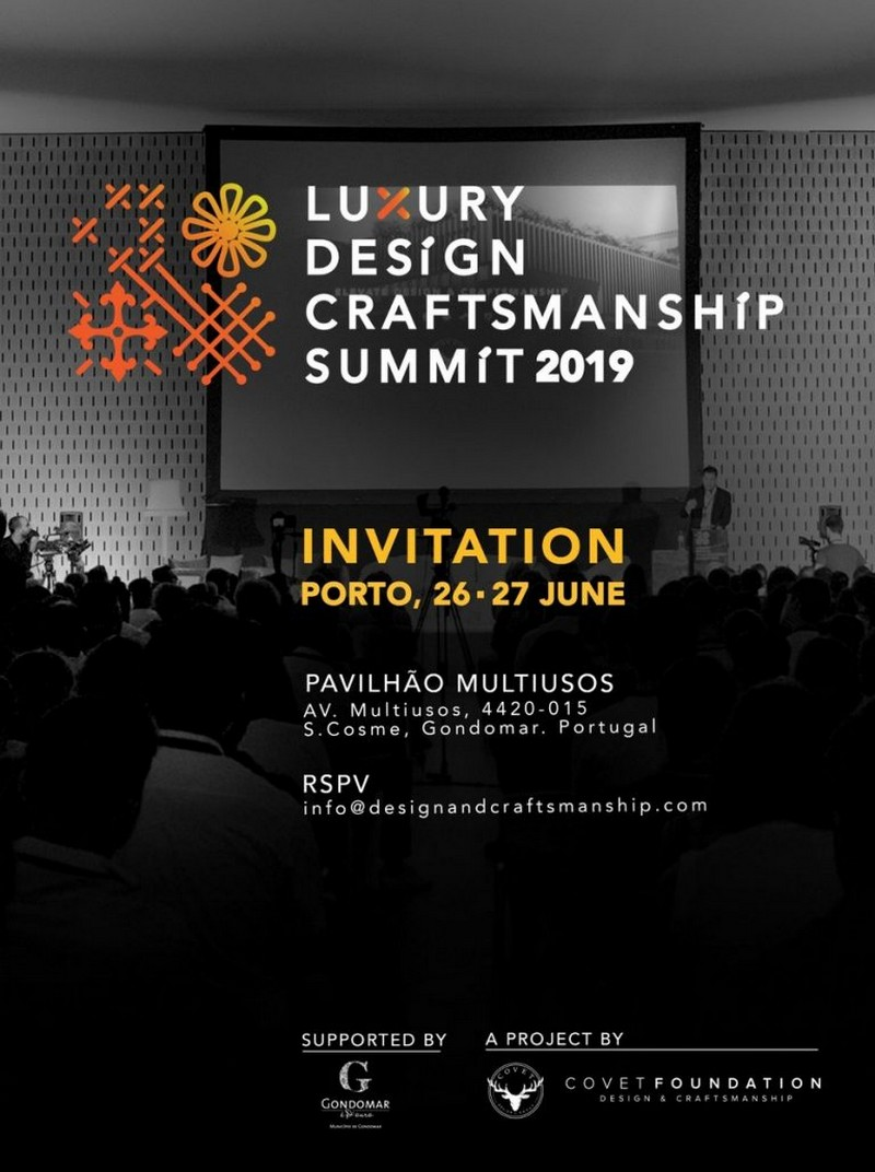 Luxury Design & Craftsmanship Summit Will Have Its 2nd Edition In June luxury design Luxury Design & Craftsmanship Summit Will Have Its 2nd Edition In June Luxury Design Craftsmanship Summit Will Have Its 2nd Edition In June 1