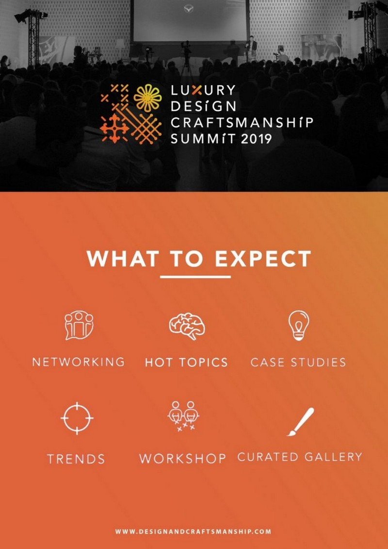 Luxury Design & Craftsmanship Summit Will Have Its 2nd Edition In June luxury design Luxury Design & Craftsmanship Summit Will Have Its 2nd Edition In June Luxury Design Craftsmanship Summit Will Have Its 2nd Edition In June 2