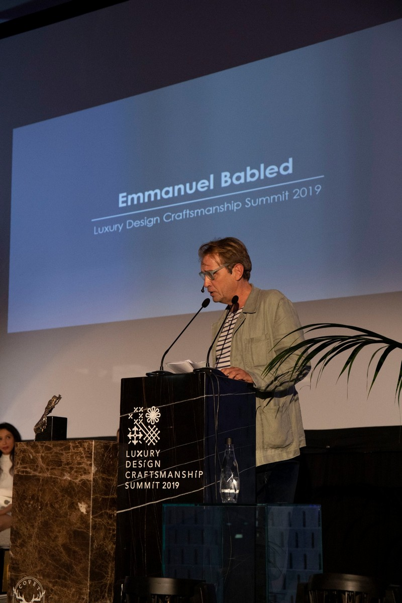 Interview with Emmanuel Babled A Sit-Down About Ancient Crafts