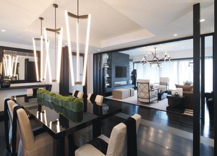 top 100 interior designers Top 100 Interior Designers, The Free Ebook You Must Download Incredible Dining Rooms Designed by Kelly Hoppen 2 740x533