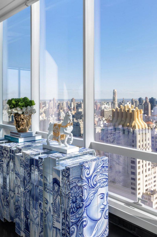 NY apartment interior design new york city luxury apartment Interior Design | New York City Luxury Apartment Dining Room Ny ideas scaled