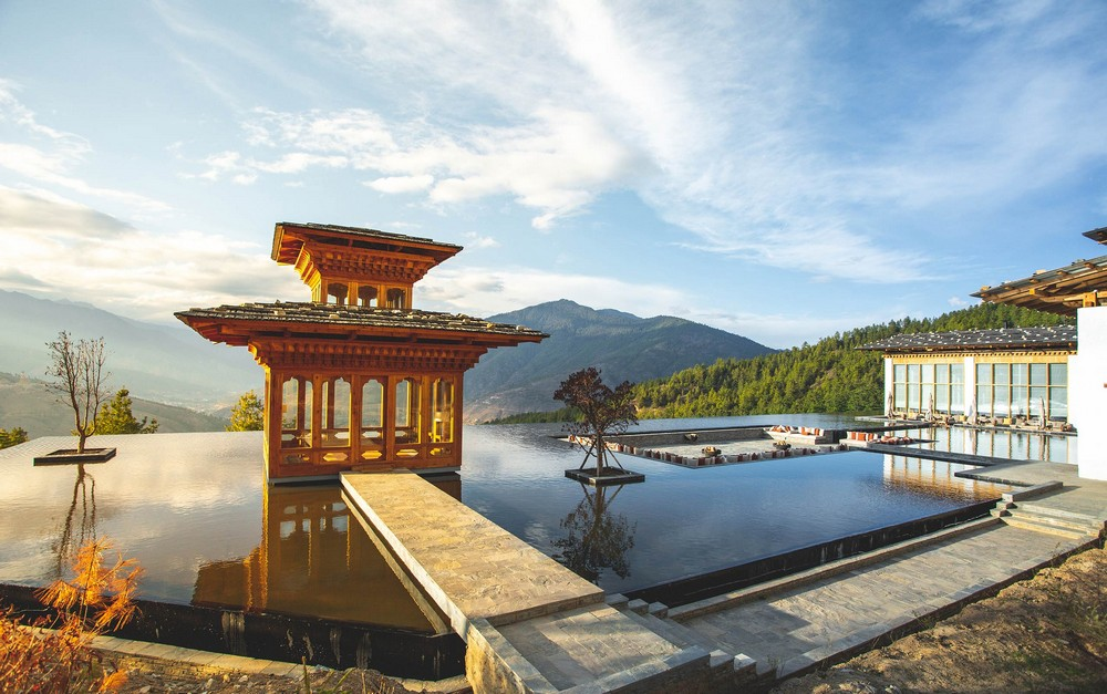 best hospitality project in asia Shortlist of The Best Hospitality Project in Asia | Resorts 2020 thimphu bhutan praying pavilion at reflecting pond
